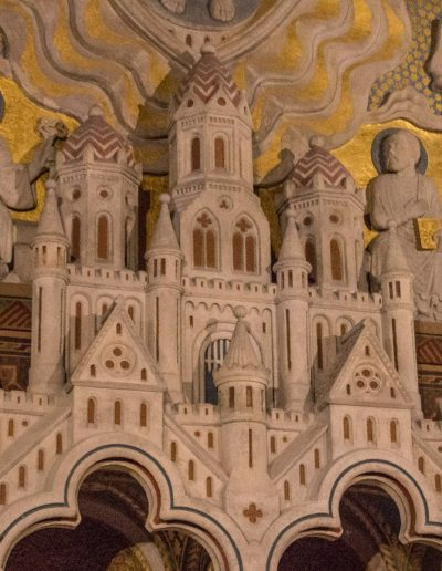 castle relief