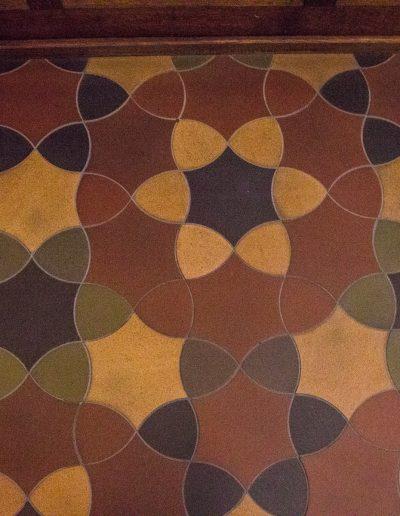 Mathias church floor