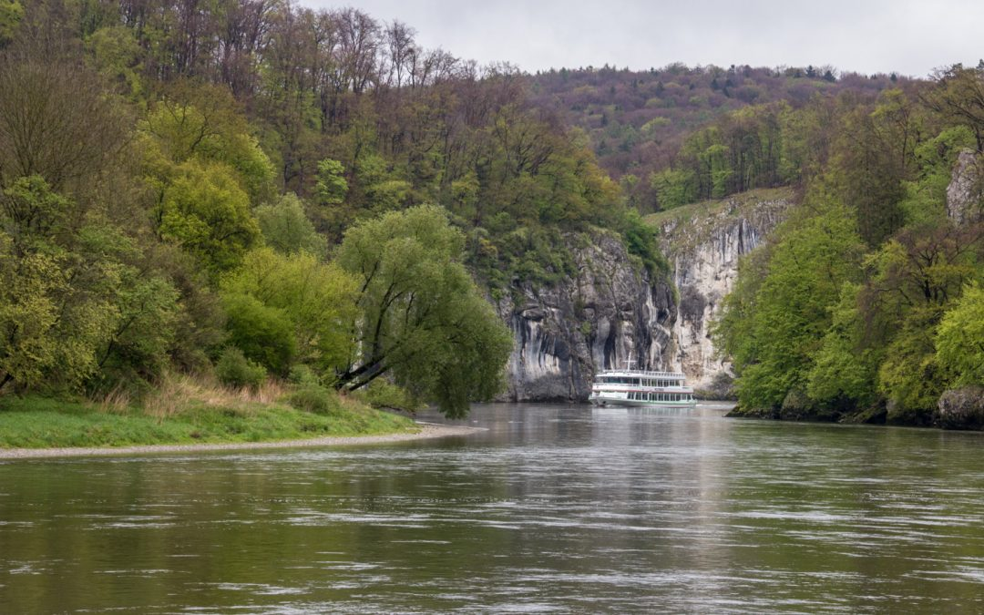 Kelheim, Danube Narrows, and the Weltenburg Abbey