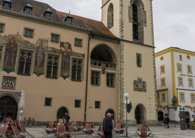 Passau town square