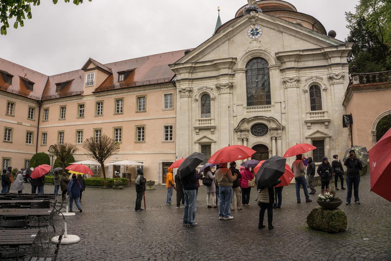 center square, Weltenburg Abbey
