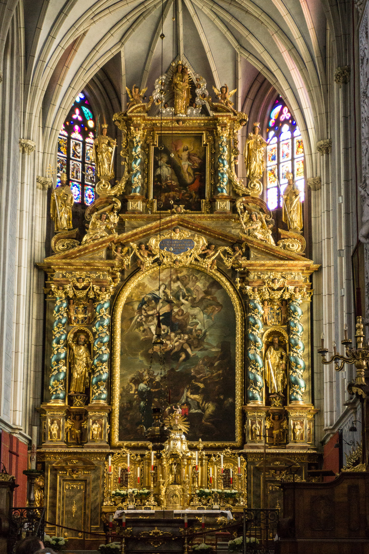 altar of the abbey church