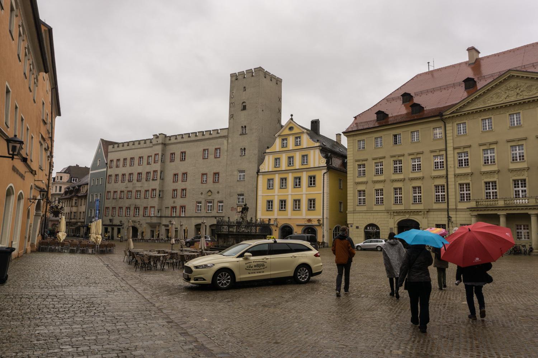 Regensburg Town Square