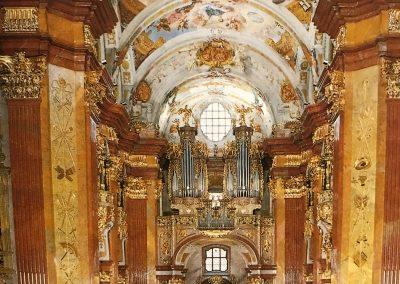 Abbey church organ