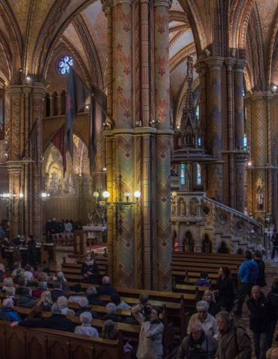 Mathias church interior