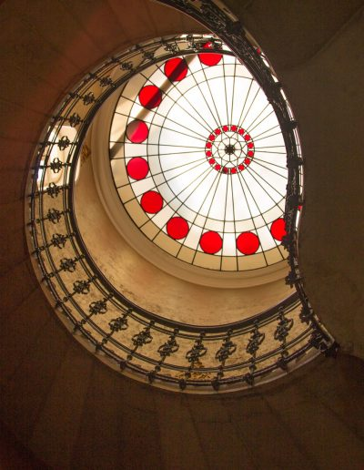 spiral staircase up