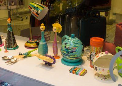 colorful shop window